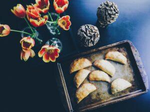 Empanadillas de Pollo y Queso curado de Oveja