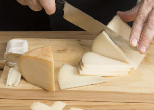 Tabla de quesos y embutidos