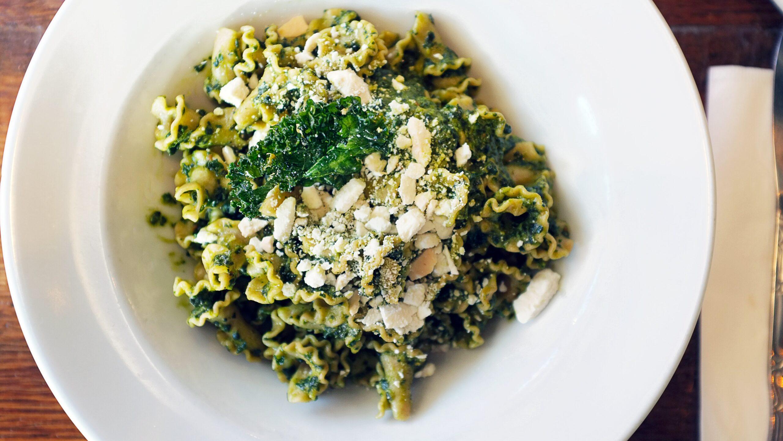 Pasta con Brócoli y queso azul